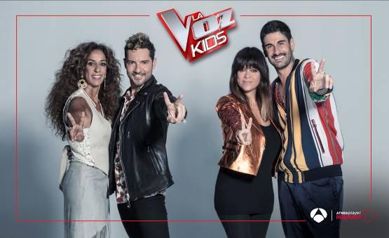'La Voz Kids' llega este miércoles a ATRESplayer PREMIUM, antes de su llegada a Antena 3