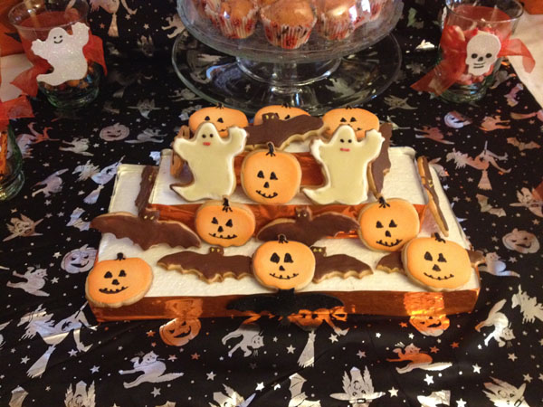 Galletas Halloween, Pecados Divinos, Mercado de Vallehermoso