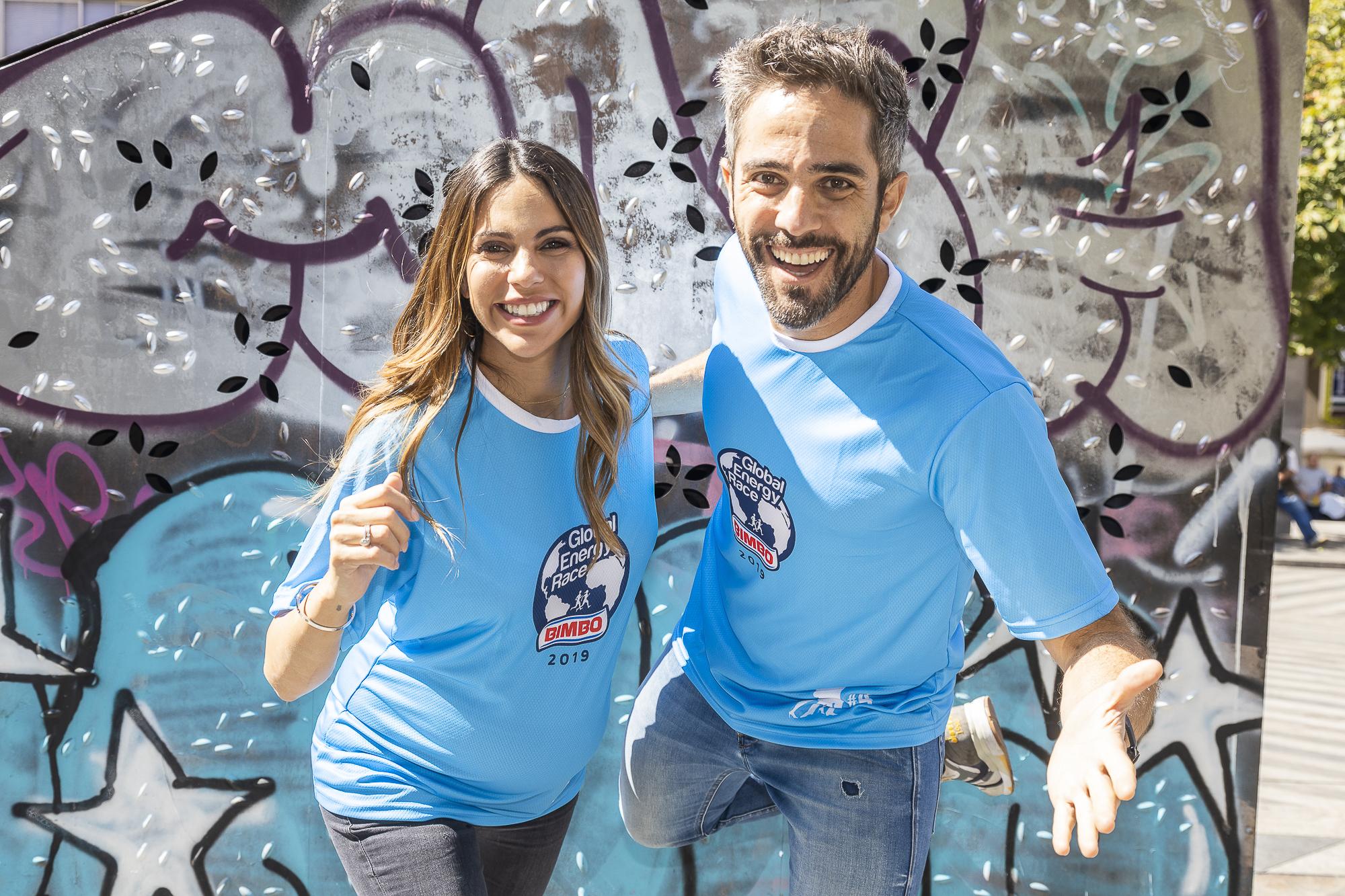 Roberto Leal y Melissa Jiménez embajadores de la carrera solidaria en 2019 II